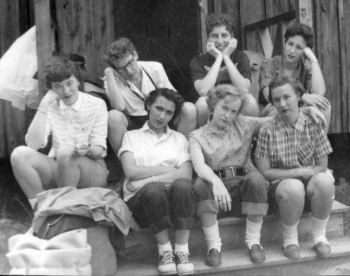 Vintagefrisyrer - Coola tjejer
