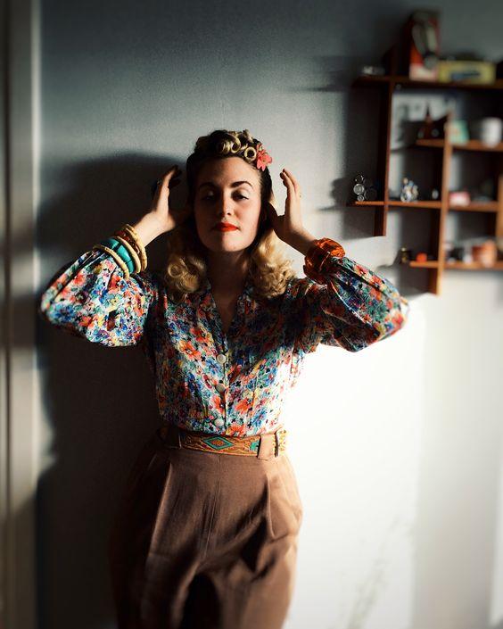 Vintagefrisyrer - Miriam Parkman