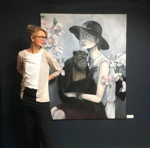 Akvarellmåleri - Lisa